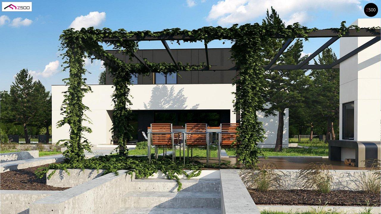 Дом в современном стиле с подвалом 6