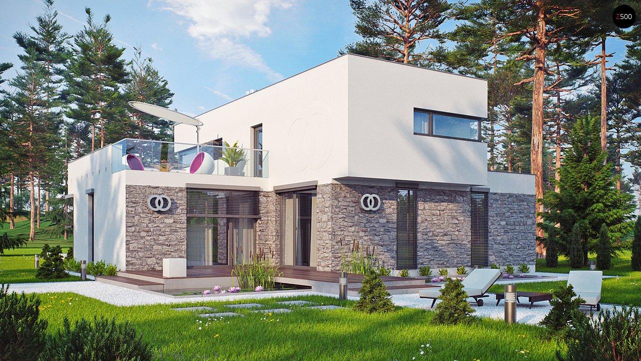 Комфортабельный особняк в стиле модерн элегантного дизайна. 5