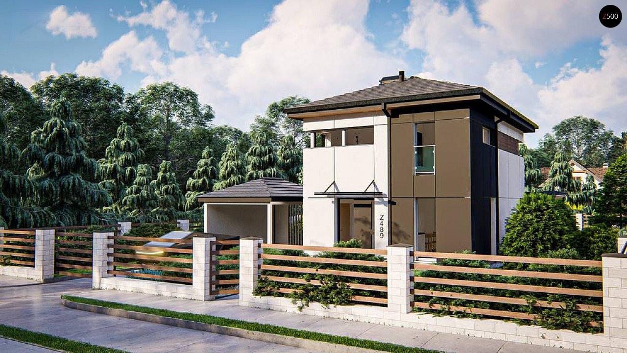 Современный проект дома с 3 спальнями 1