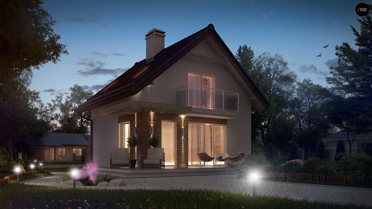Компактный, аккуратный и стильный дом с двумя спальнями. - фото 4