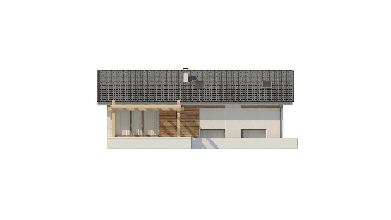 Аккуратный дом с тренажерным залом. 10