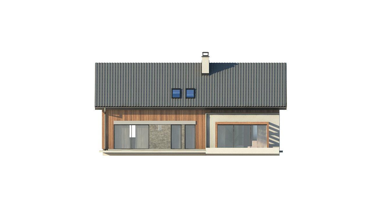 Проект двухсемейного дома с отдельной удобной «квартирой» площадью 58 м2. 6