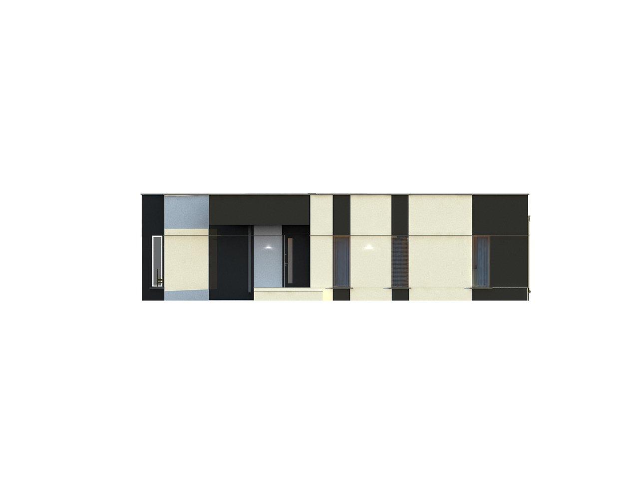 Одноэтажный комфортный дом в стиле хай-тек. 24