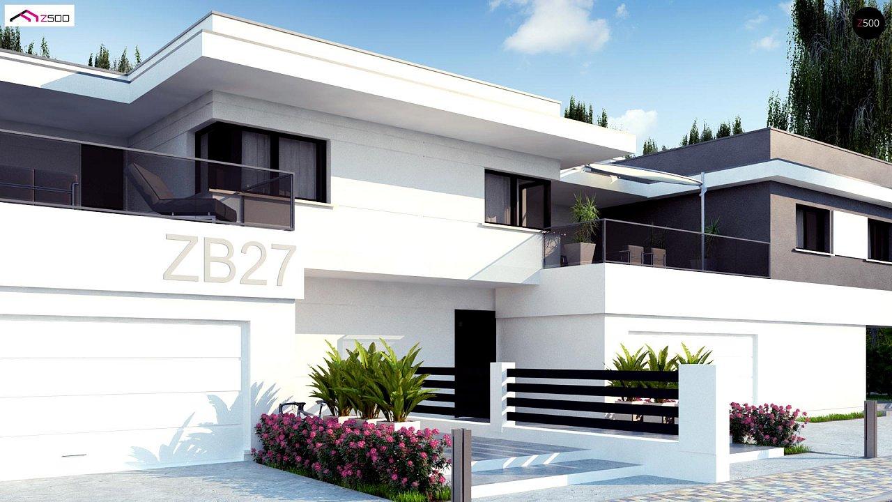 Современный двухсемейный дом с отдельными входами - фото 3
