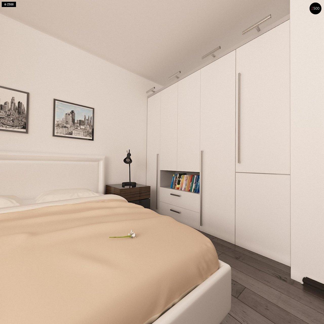 Аккуратный одноэтажный дом в классическом стиле. - фото 10