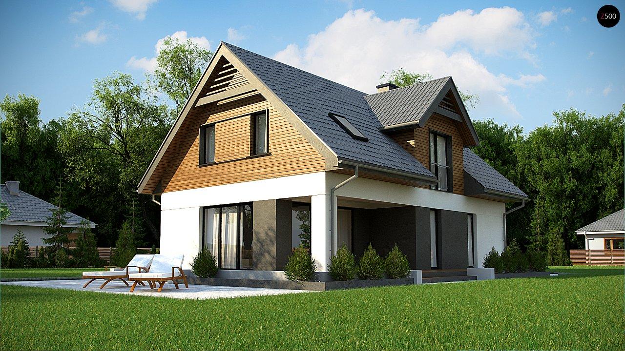 Современный жилой дом с гаражом 6
