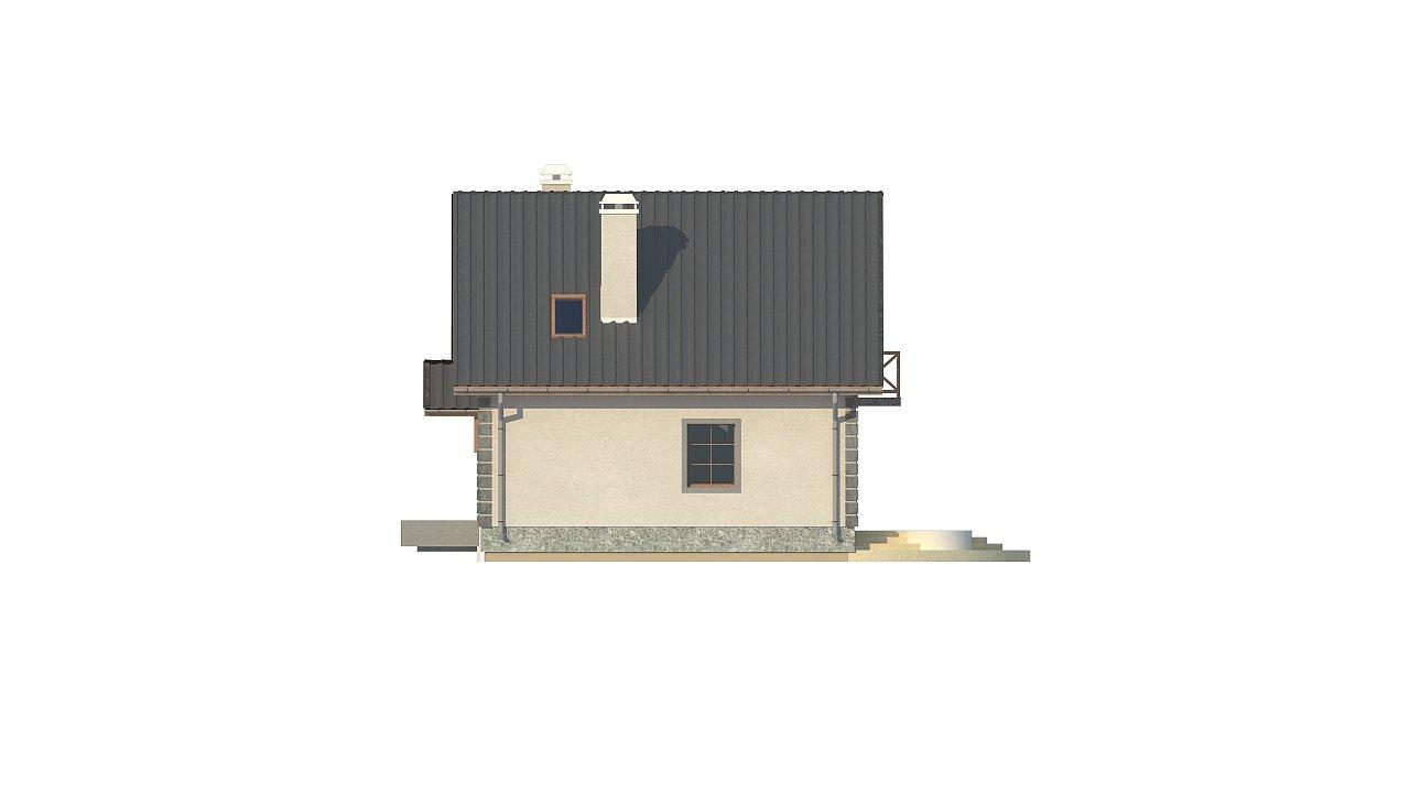 Версия проекта дома Z1 без люкарен. 24