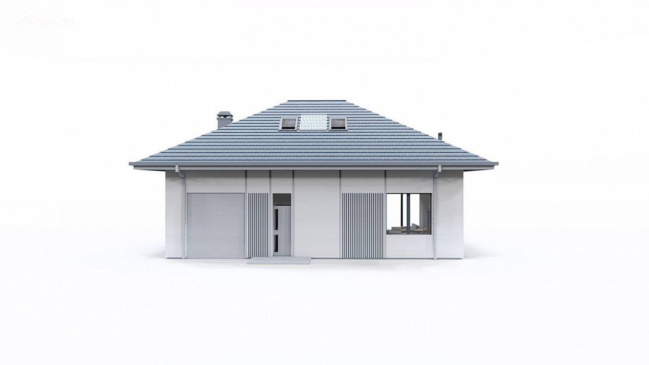 Дом с мансардой, четыре комнаты и гараж 5
