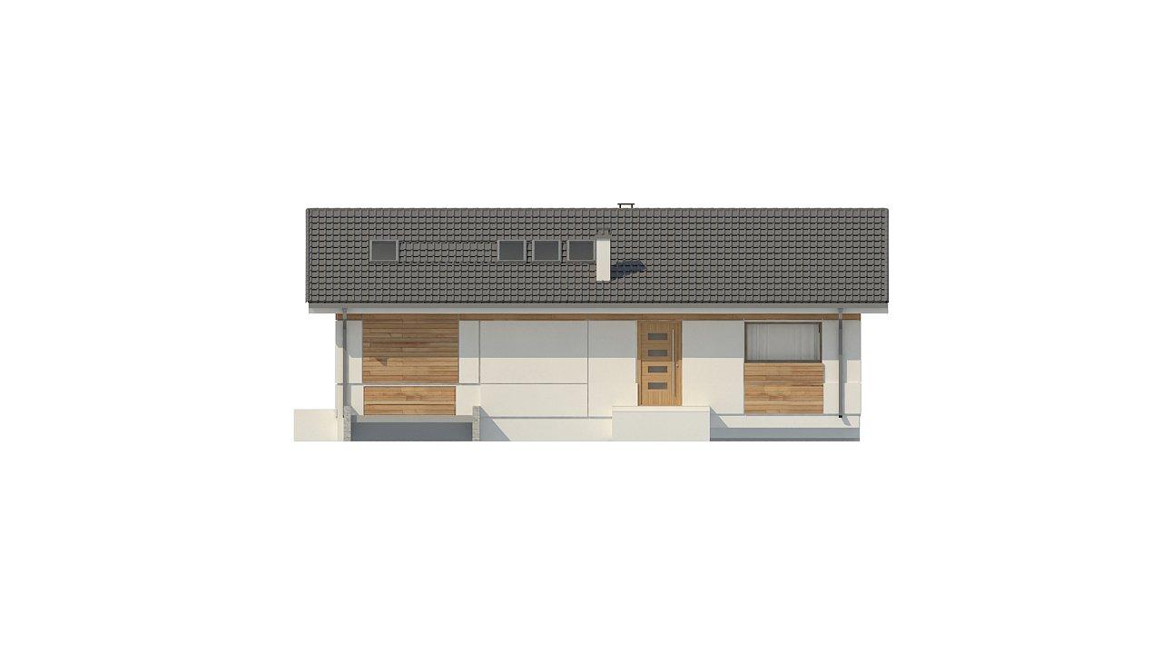 Аккуратный дом с тренажерным залом. 8