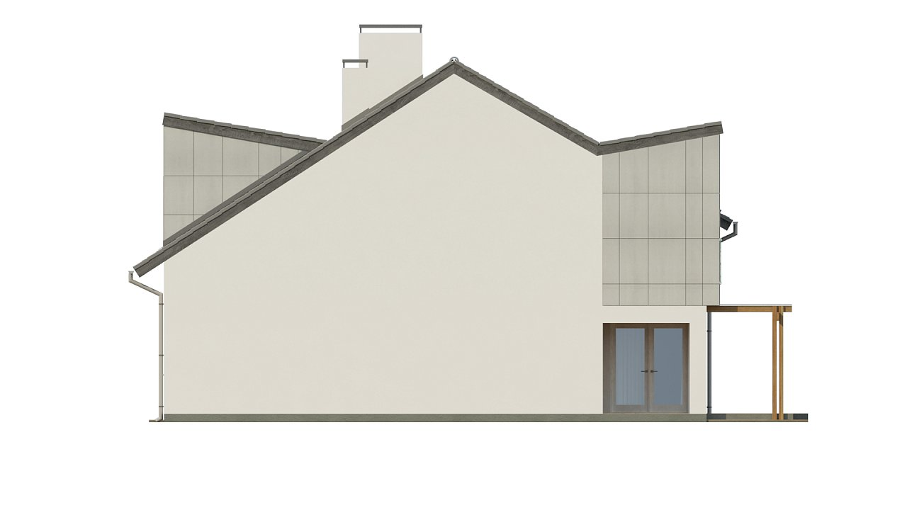 Компактные дома близнецы в современном стиле с уютным интерьером. 16