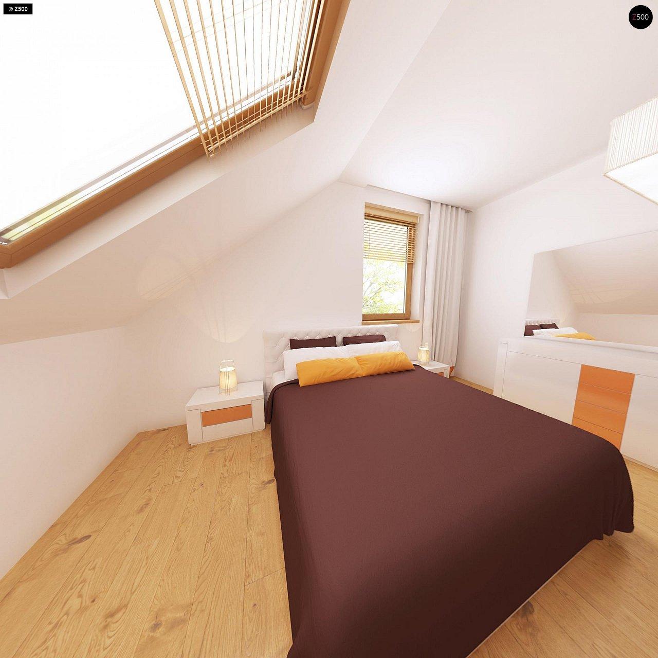 Очаровательный и практичный дом с мансардой в традиционном стиле. 11