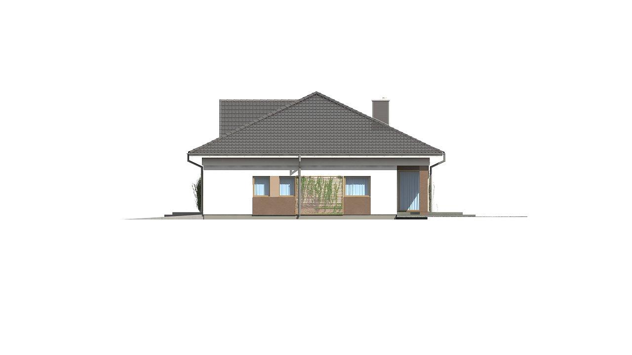 Проект просторного одноэтажного дома с 4 спальнями. - фото 7