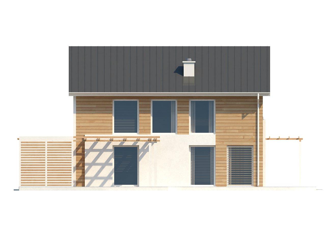 Выгодный в строительстве и эксплуатации двухэтажный дом простой формы. - фото 6