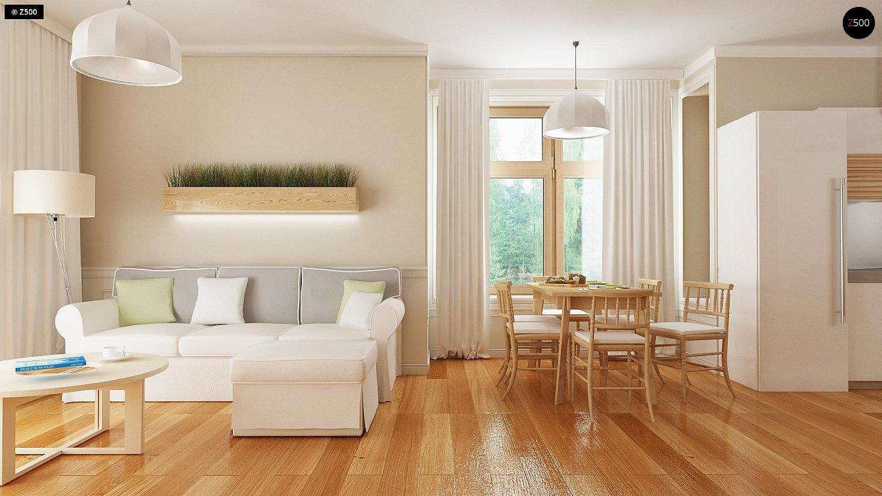 Проект традиционного дома с возможностью адаптации чердачного помещения. 3