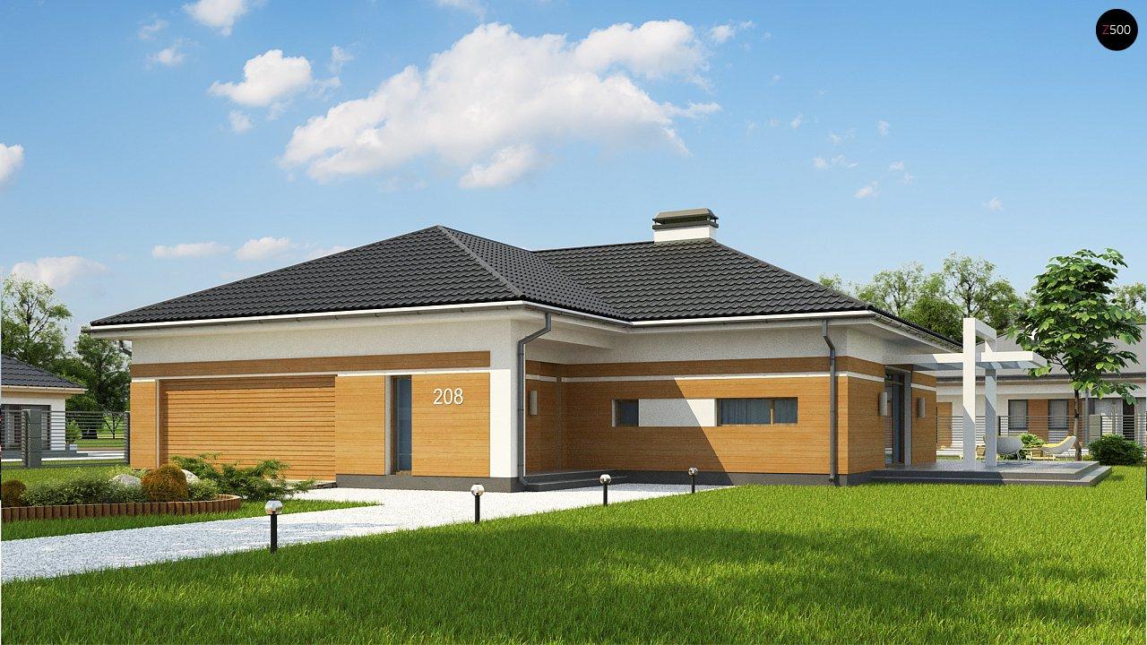 Классический вариант реализации фасадов на основе проекта Z208. - фото 1