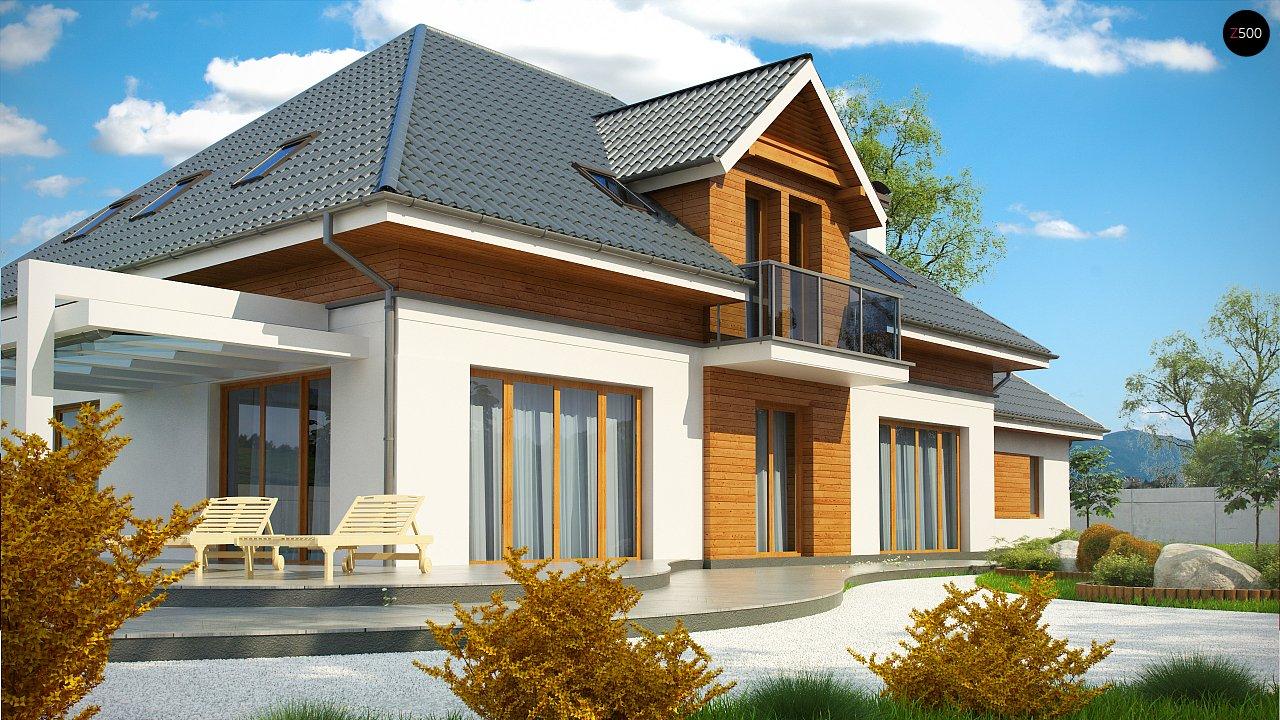 Проект дома Z50 в современной интерпретации. - фото 5