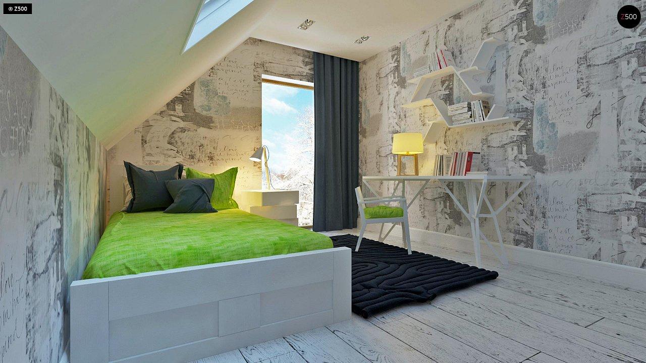 Практичный и уютный дом, идеально подходящий для вытянутого участка. 13