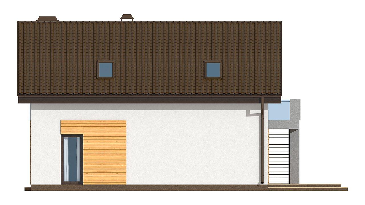 Вариант мансардного дома Z149 без гаража 14