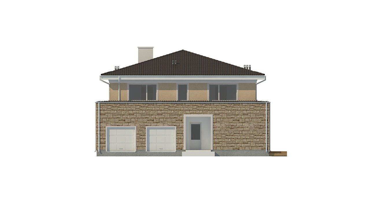 Проект комфортной двухэтажной виллы в традиционном стиле. 6