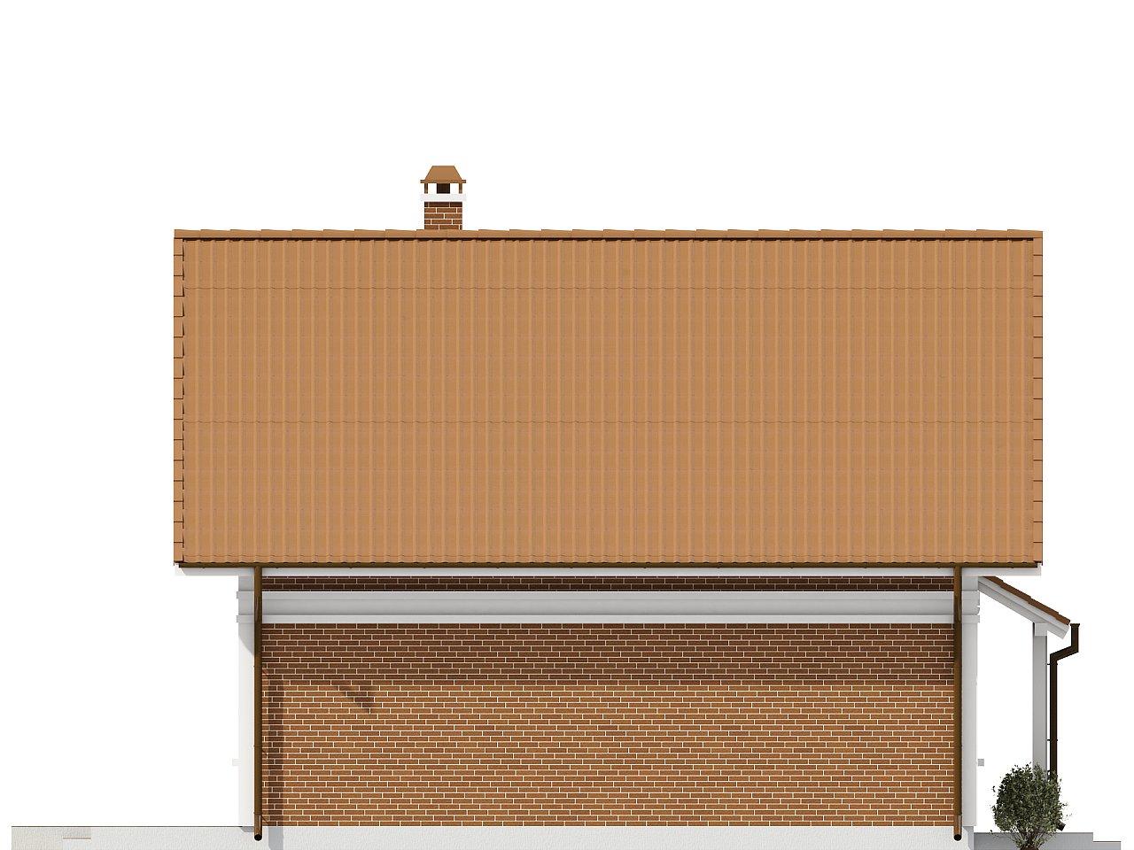 Проект компактного и функционального дома с кабинетом на первом этаже. 6
