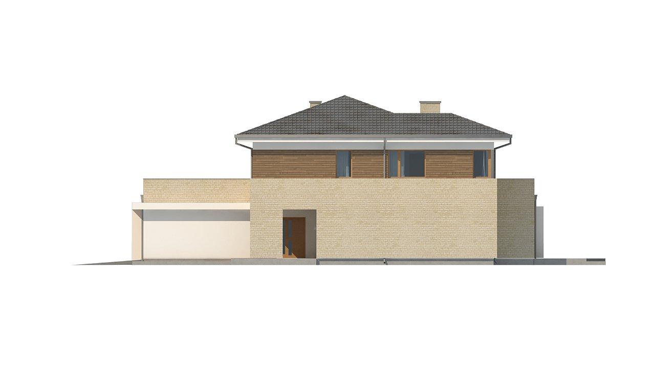 Современный комфортный двухэтажный дом с баней 13
