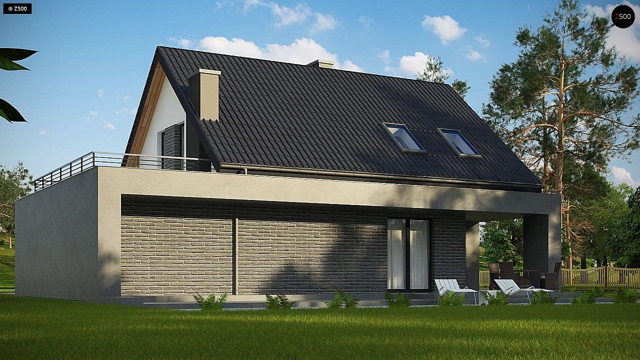 Проект комфортного дома в современном европейском стиле. 6