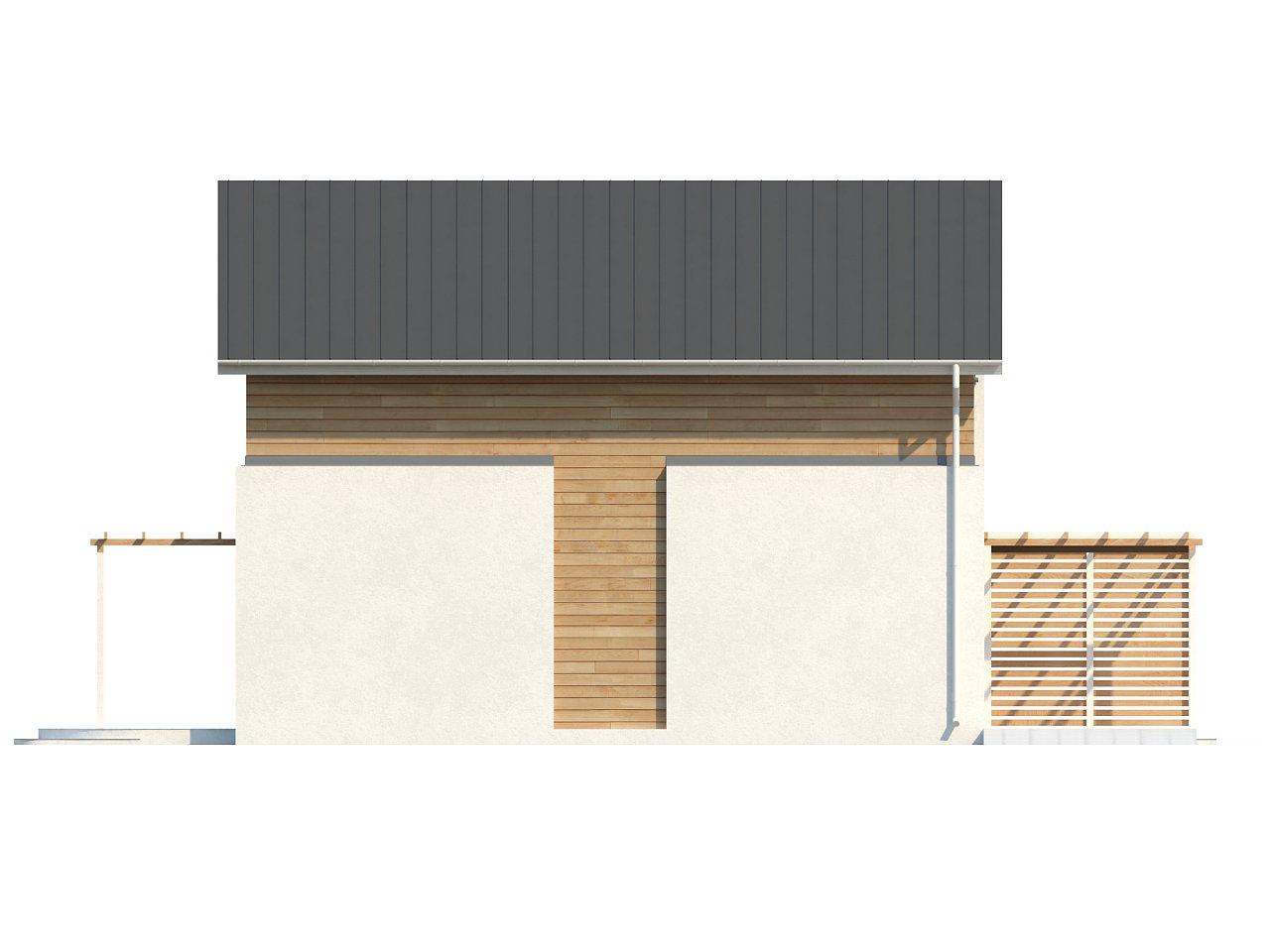 Выгодный в строительстве и эксплуатации двухэтажный дом простой формы. - фото 7