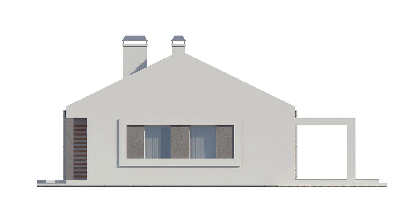 Простой и недорогой в строительстве энергосберегающий дом современного дизайна. 14