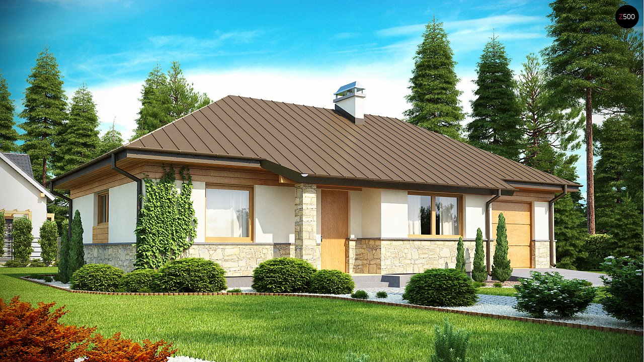 Функциональный компактный дом интересного дизайна. - фото 2