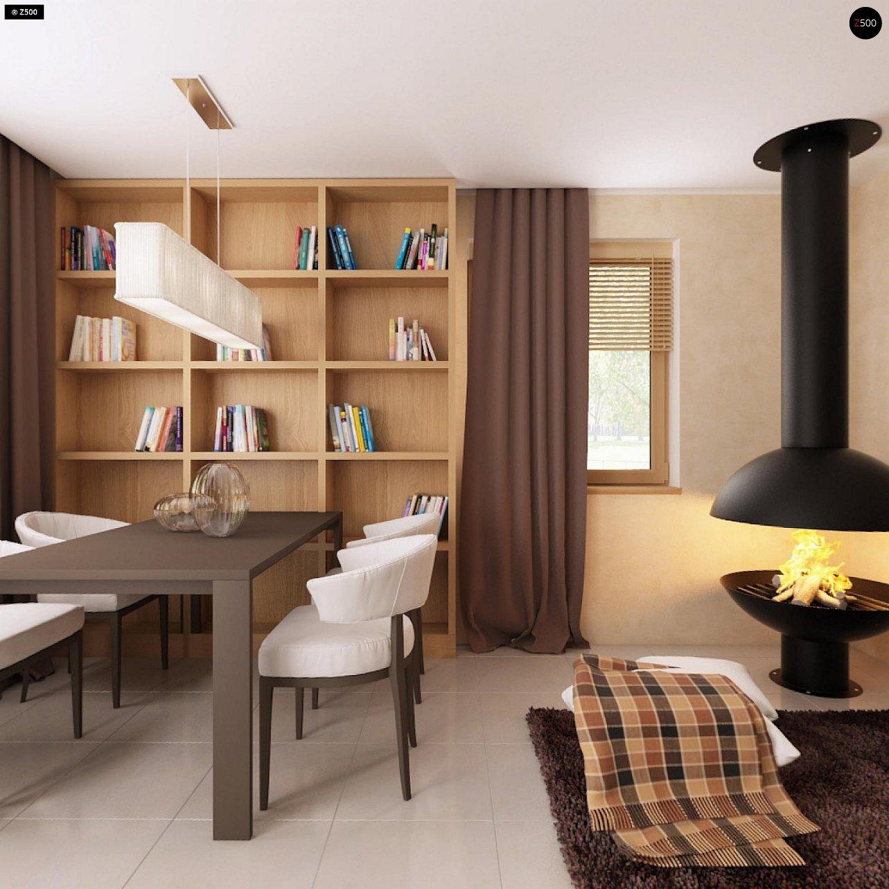 Очаровательный и практичный дом с мансардой в традиционном стиле. 6
