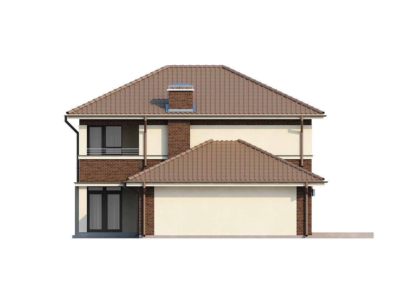 Элегантный двухэтажный дом с боковым гаражом и кабинетом на первом этаже. 22