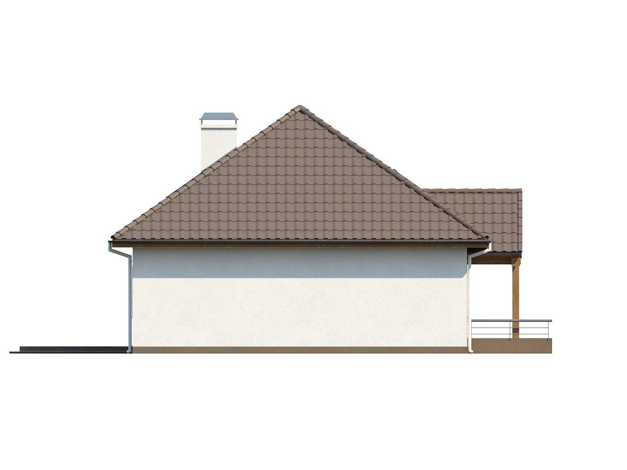 Проект традиционного дома с возможностью адаптации чердачного помещения. 15