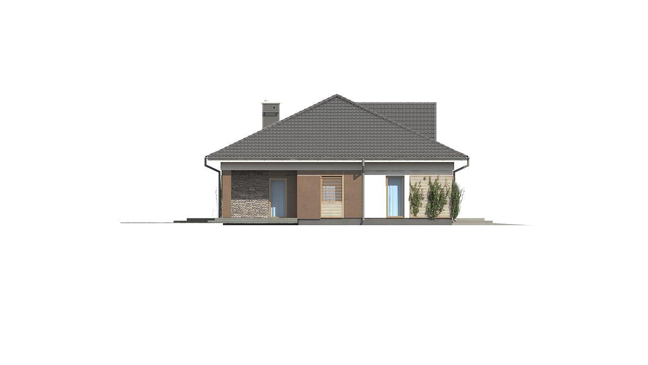 Проект просторного одноэтажного дома с 4 спальнями. - фото 5