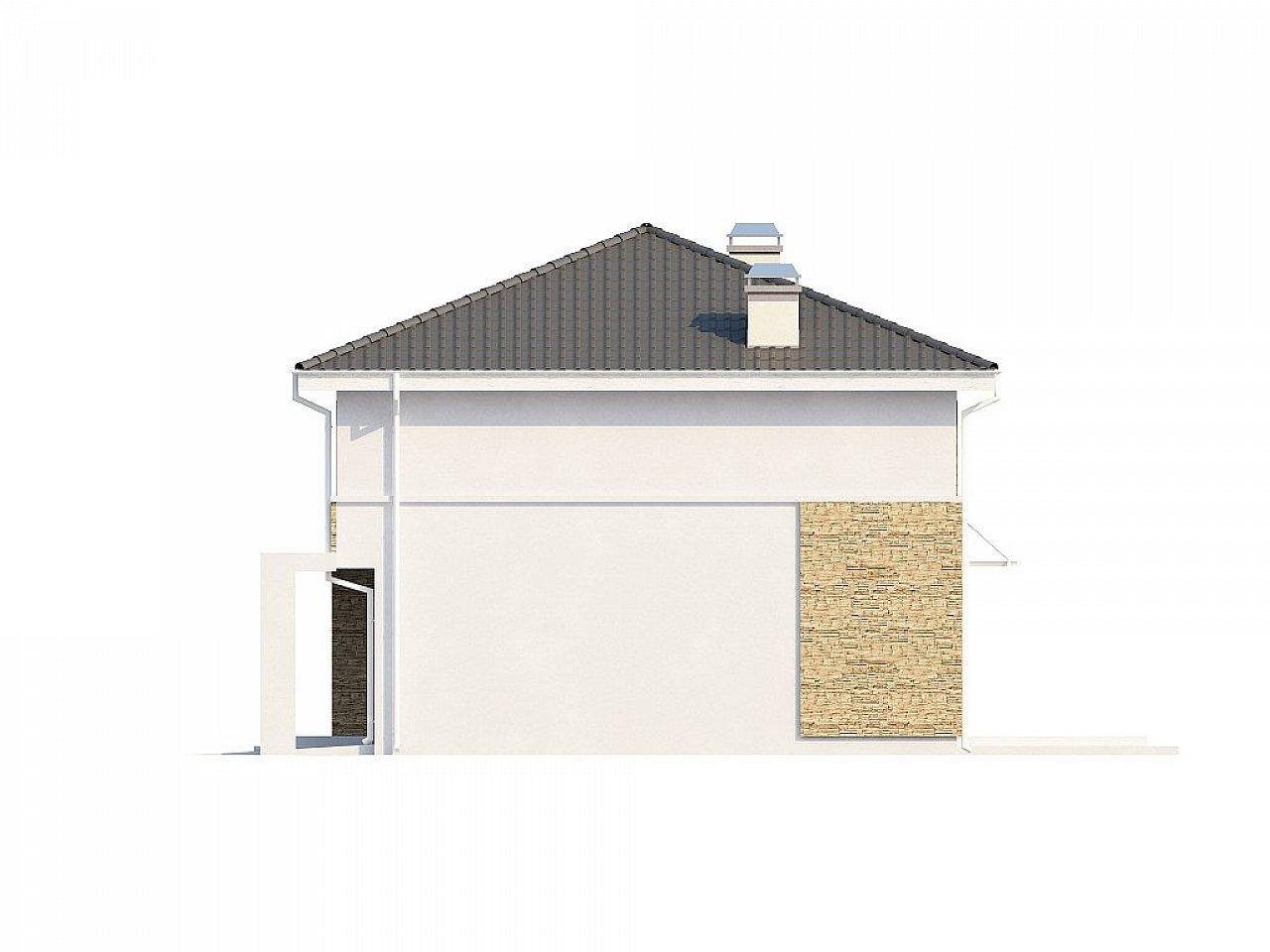 Двухэтажный современный дом под сейсмику 9