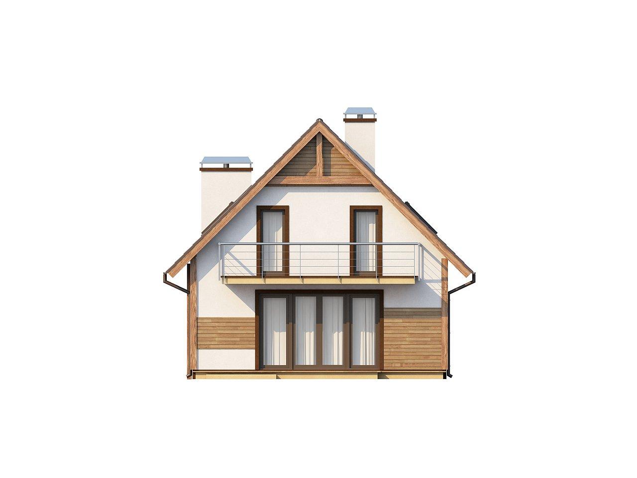 Предложение выгодного и практичного дома, подходящего для удлиненного или, наоборот, неглубокого участка. 4