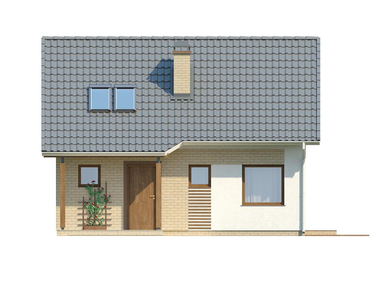 Практичный функциональный дом, недорогой в строительстве и эксплуатации. 13