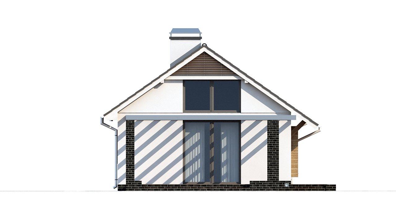 Маленький и функциональный одноэтажный дом, выгодный в строительстве и эксплуатации. - фото 13