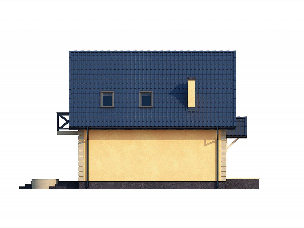 Очаровательный и практичный дом с мансардой в традиционном стиле. 23