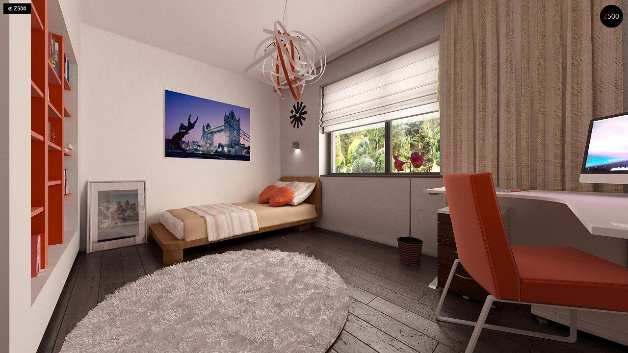 Аккуратный одноэтажный дом в классическом стиле. - фото 22