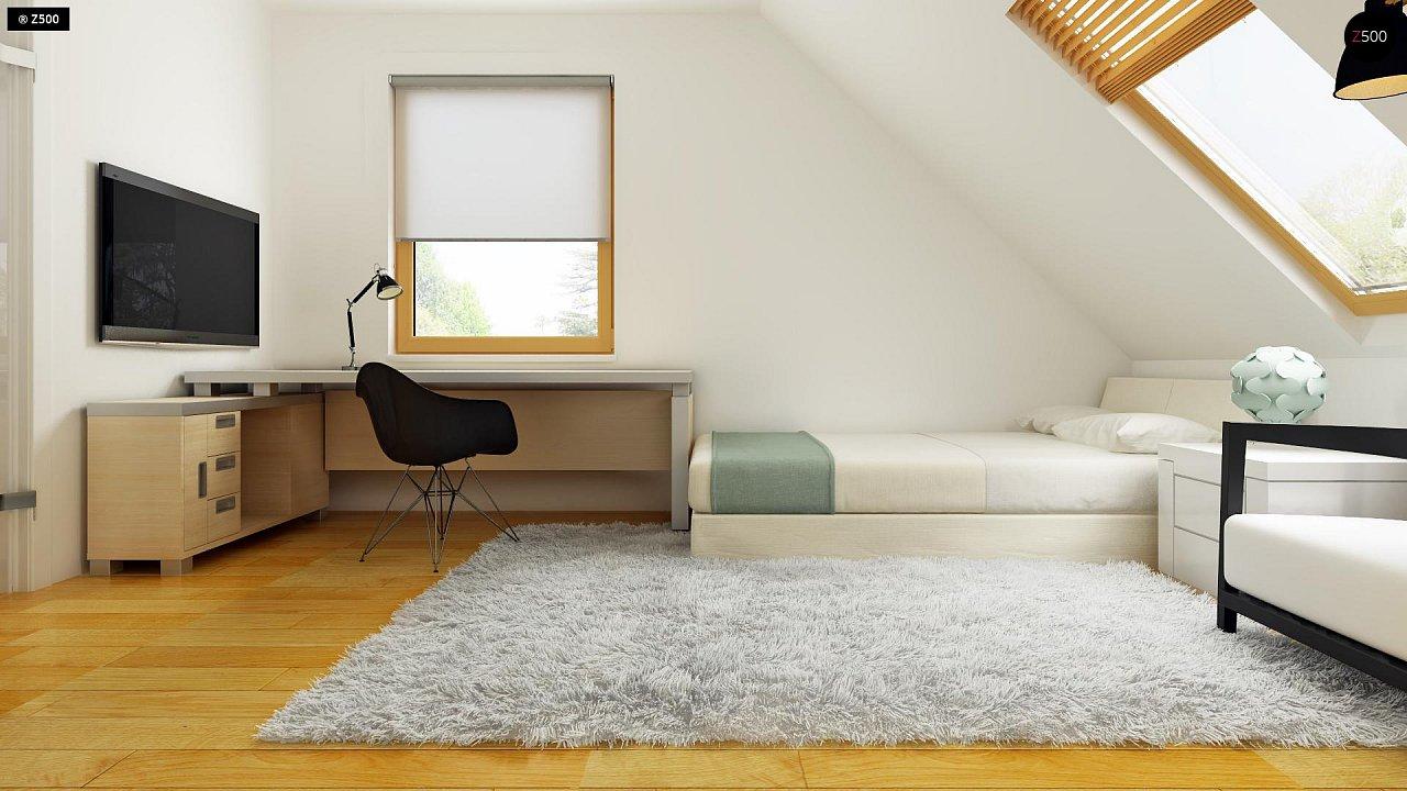 Практичный дом для небольшого участка, простой в строительстве, дешевый в эксплуатации. 18