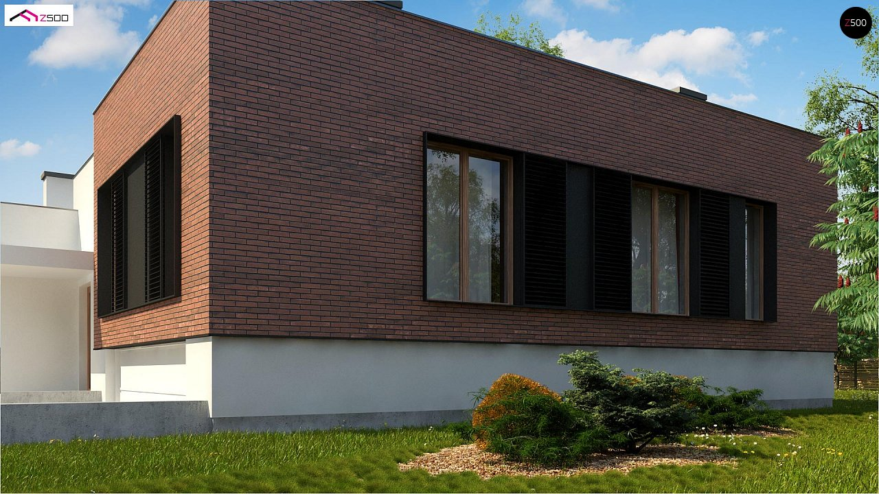 Современный дом минималистичного дизайна с подвалом - фото 4