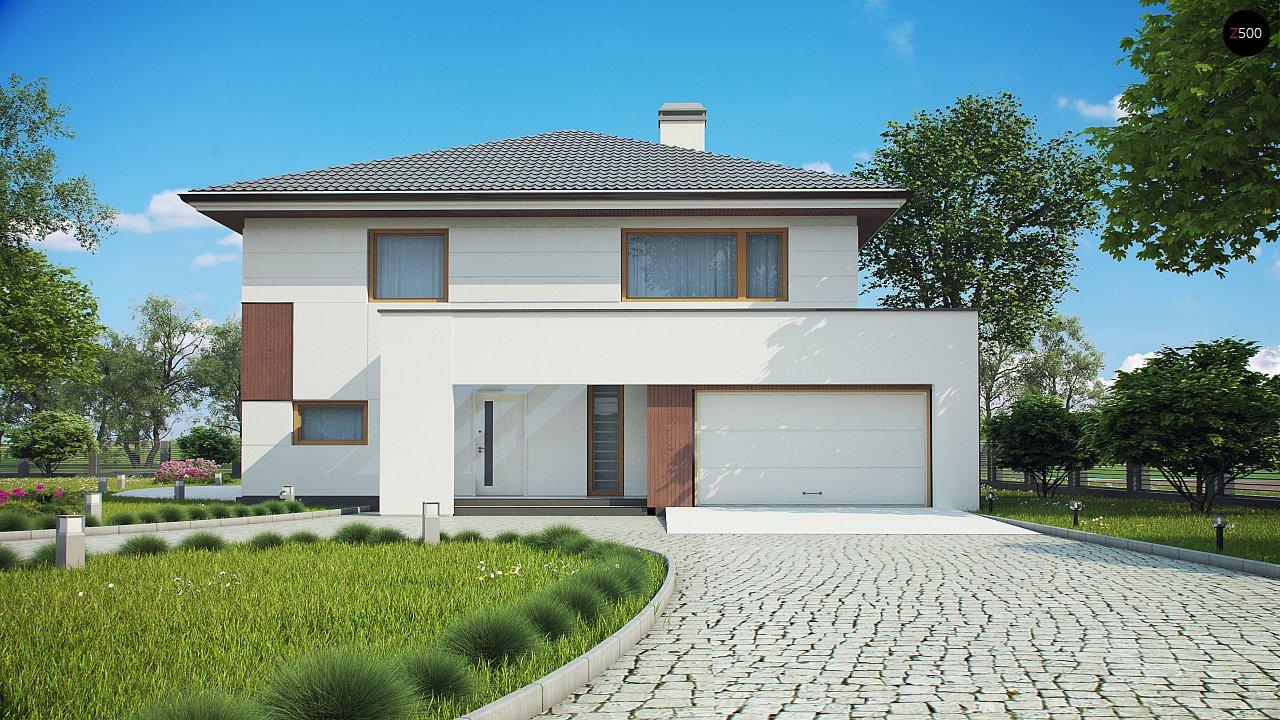 Элегантный комфортабельный двухэтажный дом с современными элементами архитектуры. - фото 3