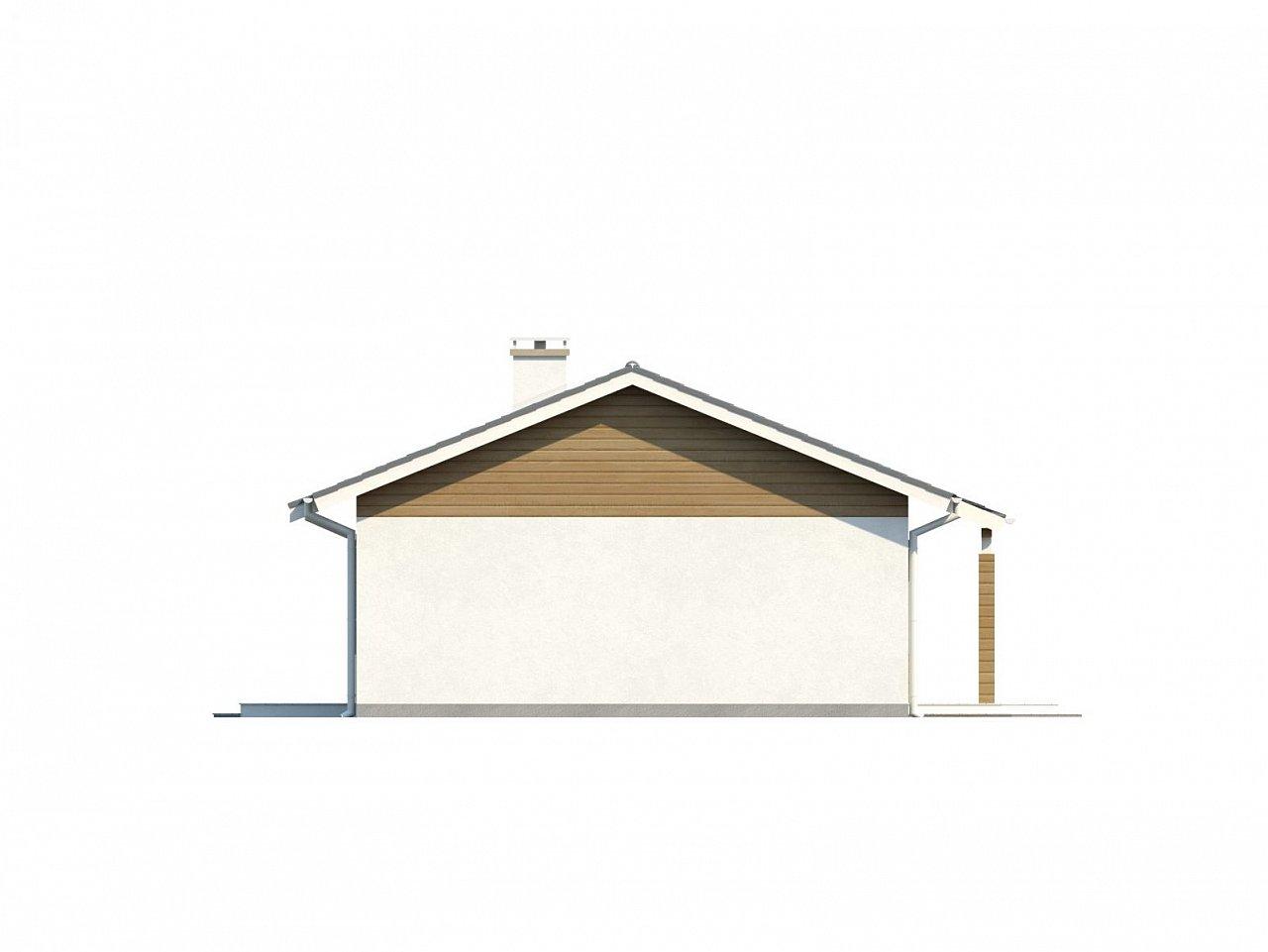 Функциональный и практичный проект дома Z7 в каркасном исполнении - фото 21