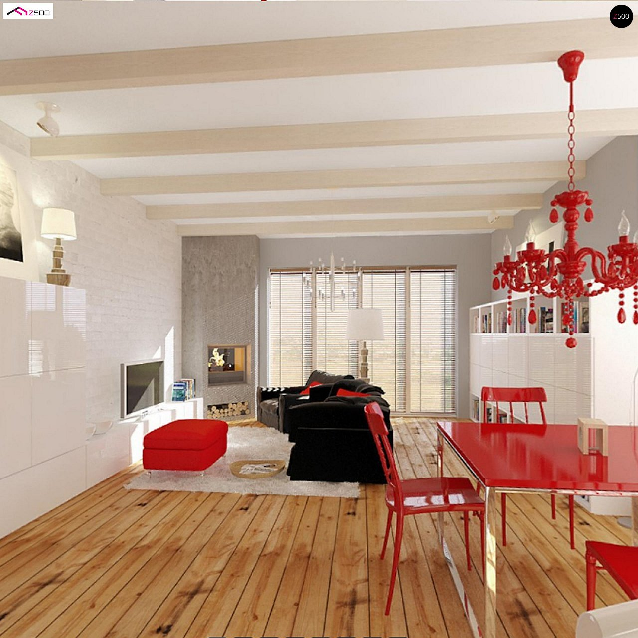 Одноэтажный удобный дом с фронтальным гаражом, с возможностью обустройства мансарды. - фото 7