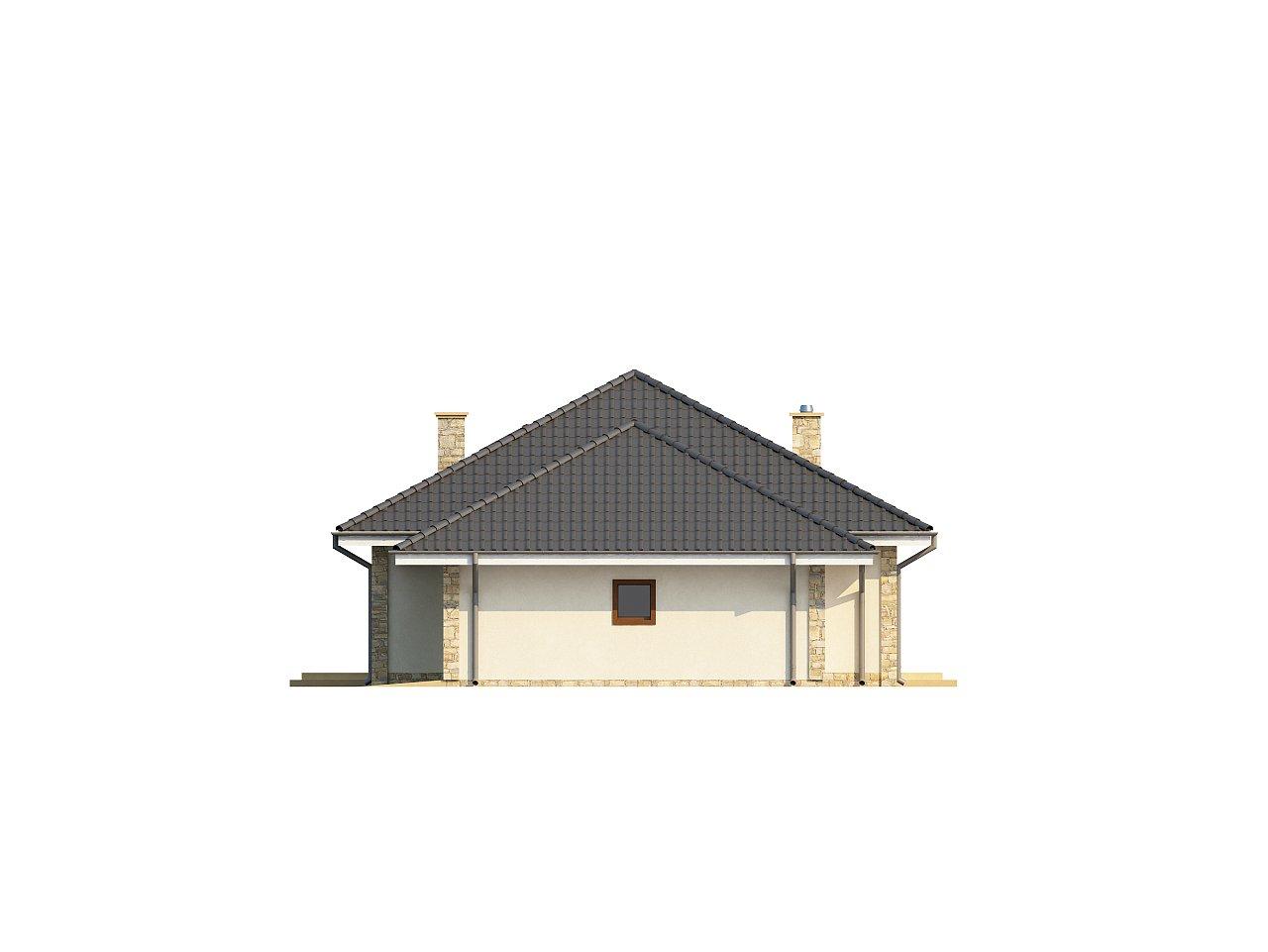 Просторный одноэтажный дом с тремя спальнями и большим гаражом. 16