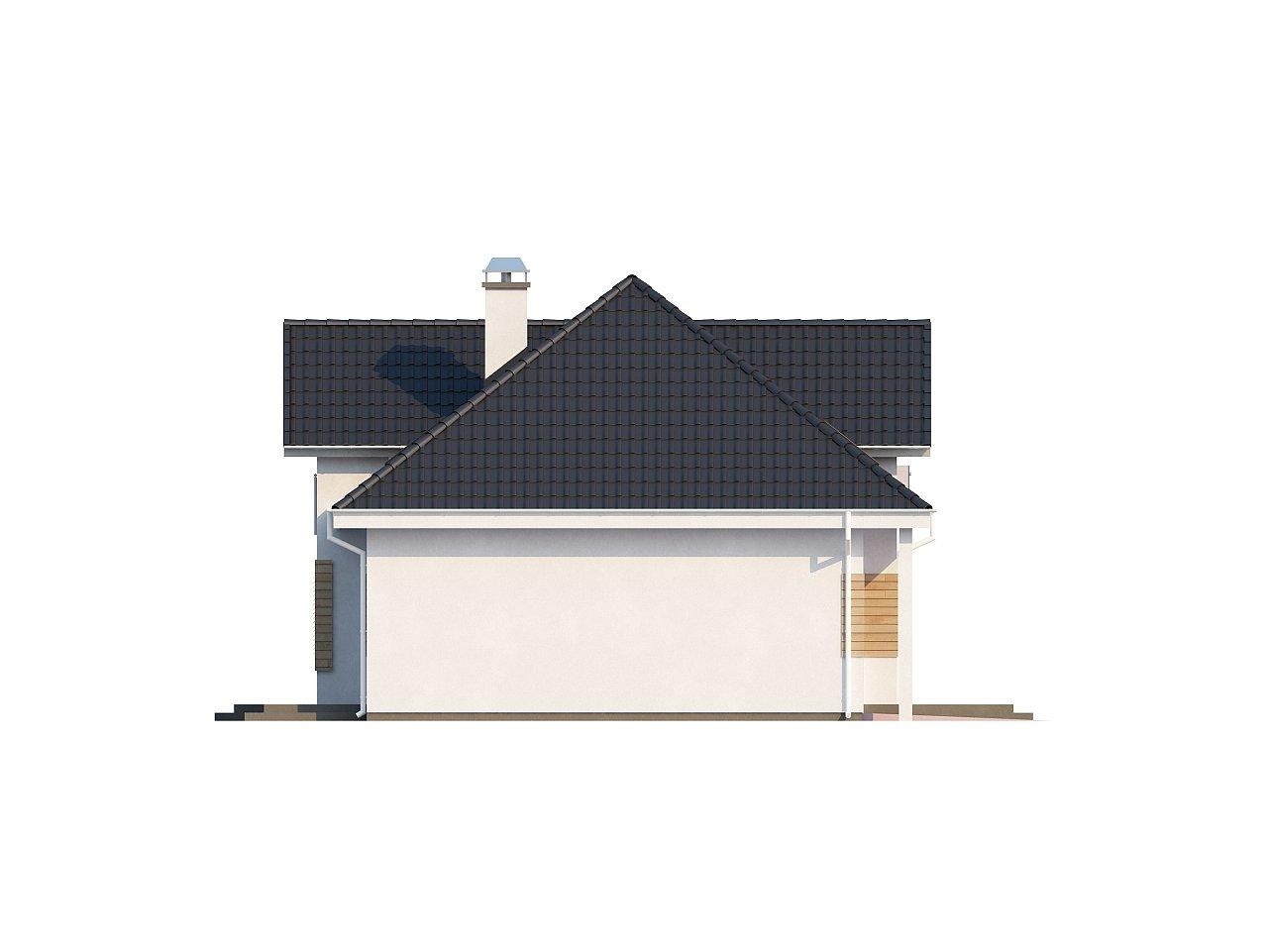 Комфортный стильный дом с большим гаражом для двух автомобилей и дополнительной комнатой над ним. 4