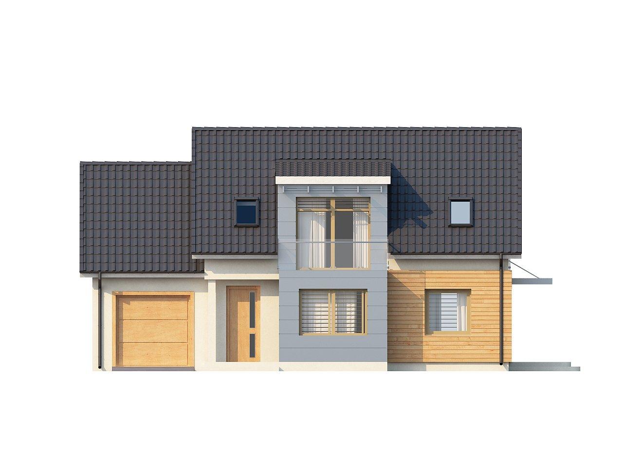 Традиционный практичный дом с современными элементами архитектуры. 8