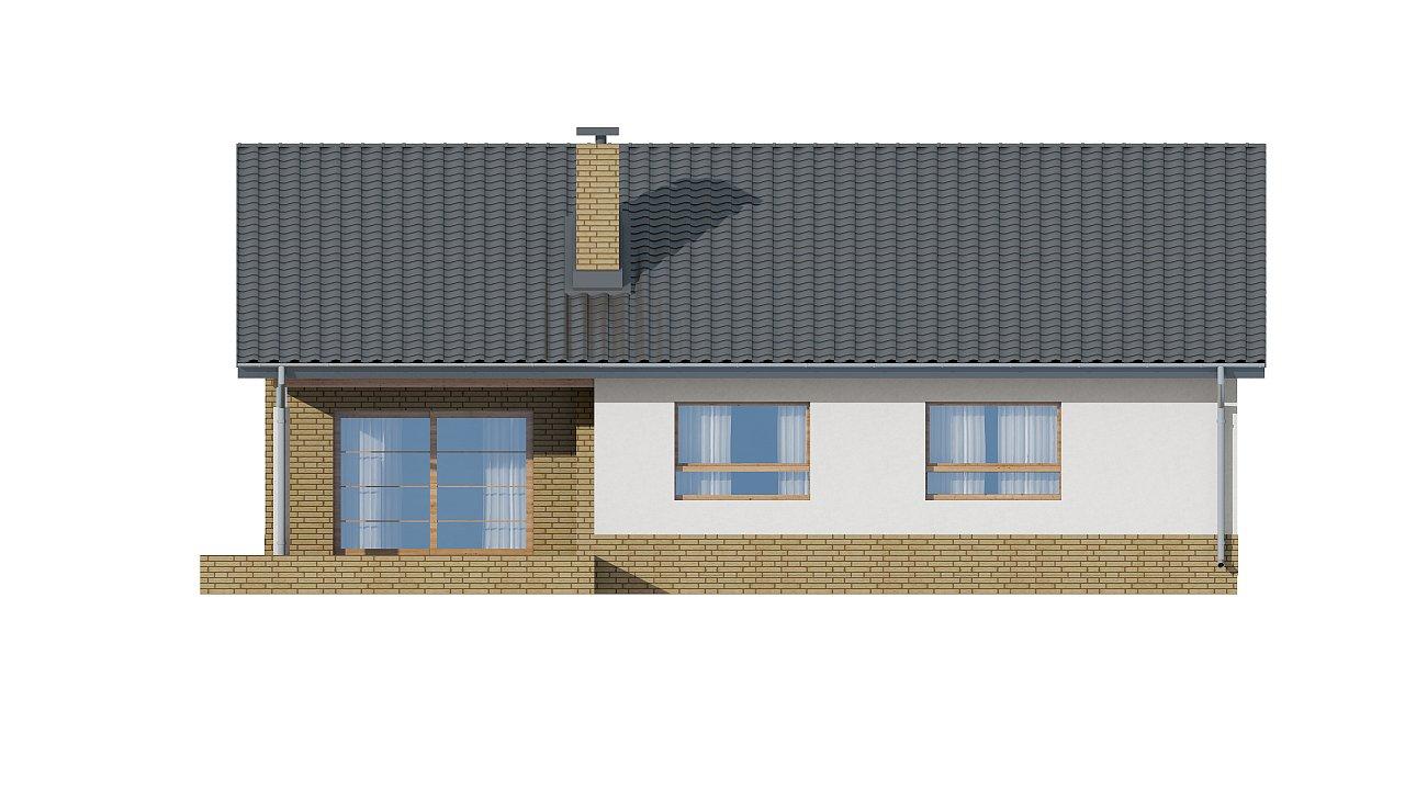 Версия увеличеного одноэтажного дома Z41 - фото 13