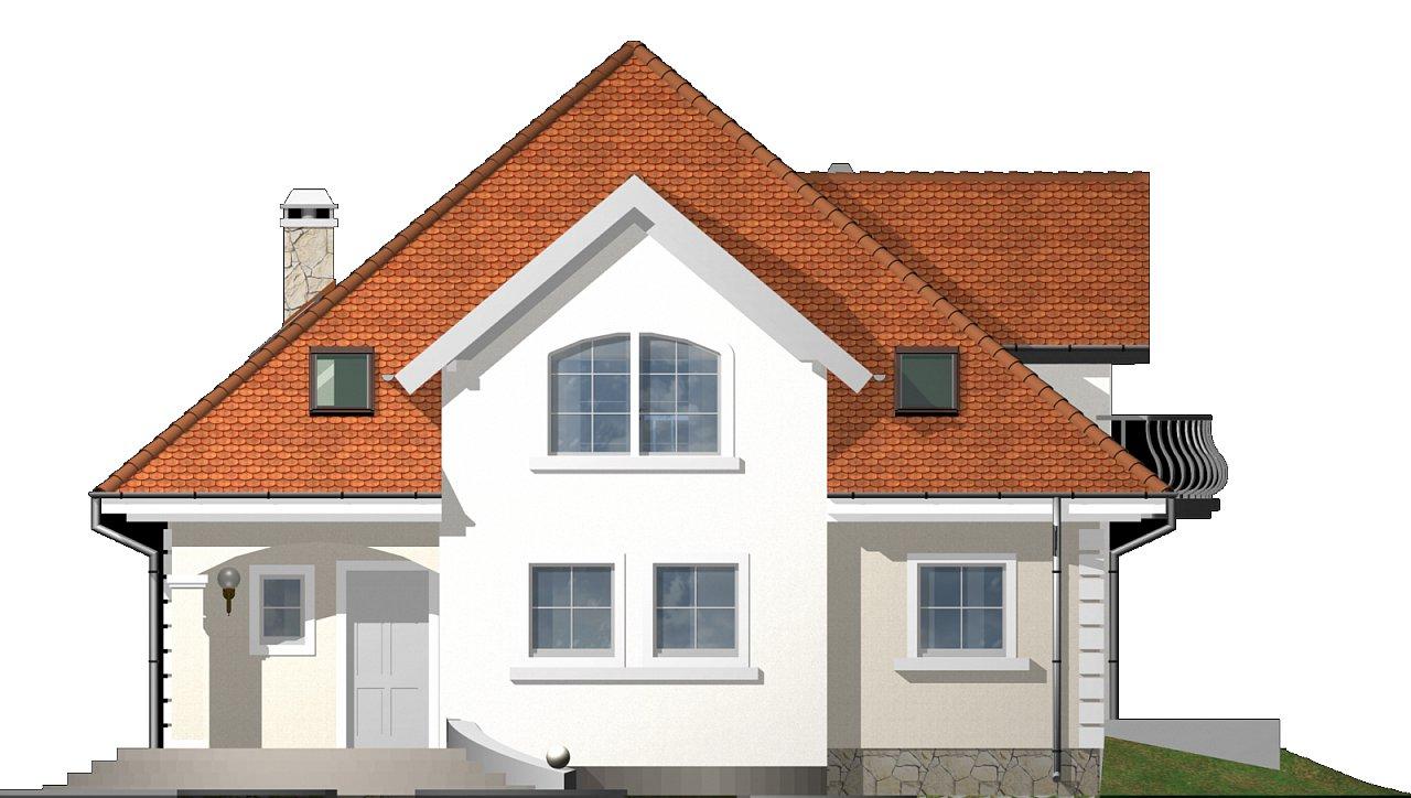 Версия проекта Z18 c кирпичной облицовкой фасадов. - фото 22