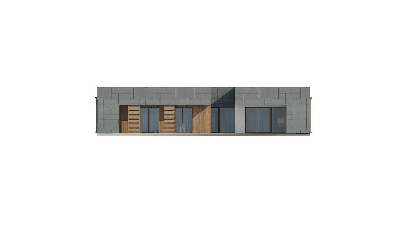 Современный односемейный одноэтажный дом с плоской крышей - фото 13